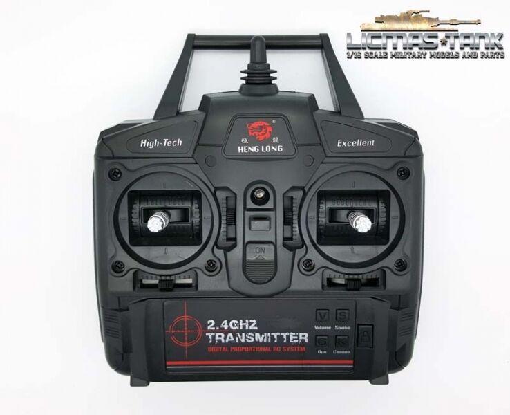 Heng Long Torro Panzer 1 16  2.4 GHz Fernbedienung Fernsteuerung 3 Generation