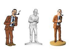 TIM & Struppi FIGUR Comic TINTIN Statue HERGE Moulinsart RESINE Kuifje # 102 neu