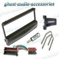 Ford Focus Black Facia Fascia Car CD Radio Fitting Kit Stereo Adaptor Panel