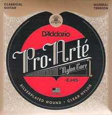 D'addario Pro Arte Silver Clear Normal EJ-45, I10-