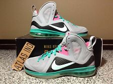 LEBRON 9 P.S. ELITE South Beach Miami Vice IX Nike 1 5 6 7 8 10 11 Big Bang 8.5