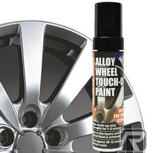 Silver-E-Tech-Wheel-Touch-Up-Paint-Stick-Car-Alloy-Wheels-Repair-Chip-Damaged