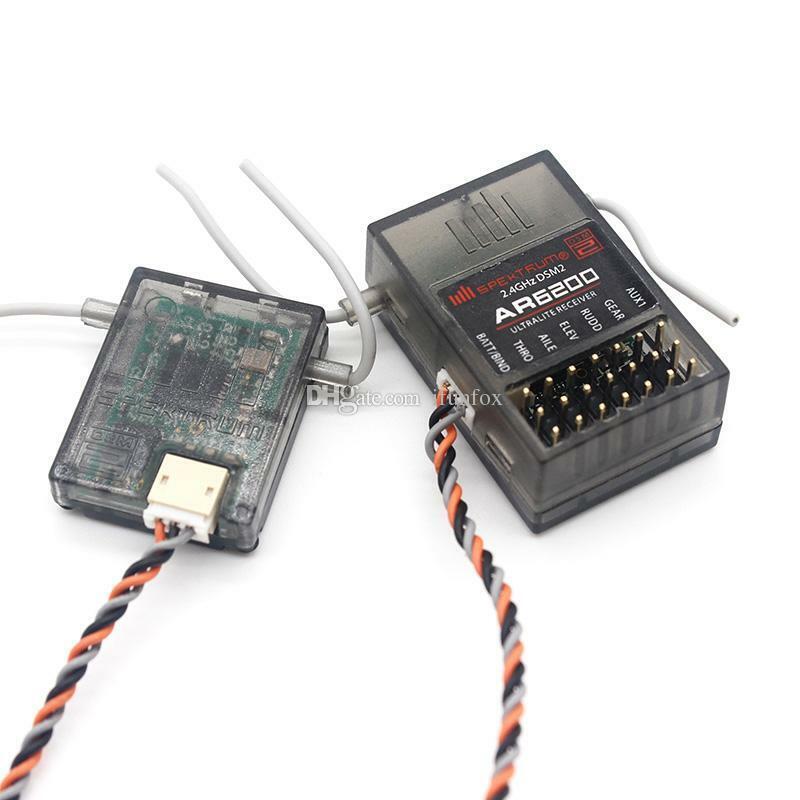Spektrum AR6200 2.4GHz 6 Ch Full Range Receiver  Spektrum for DX6i JR DX7 DSM2  trova il tuo preferito qui