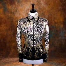 LARGE Showmanship Pleasure Horsemanship Show Jacket Shirt Rodeo Queen Western