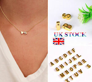 Uk ladies girls 26 initial letter heart chain alphabet charm pendant image is loading uk ladies girls 26 initial letter heart chain aloadofball Choice Image