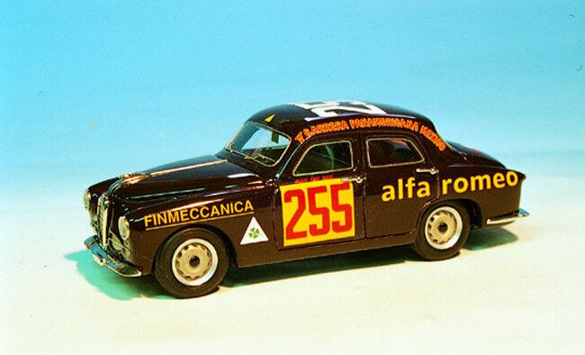 ABC ABC ABC 081C ALFA ROMEO 1900 TI 1954 CARR.PAN. CARINI-SAMBROTTA N.255 (Marrón) f6ef5a