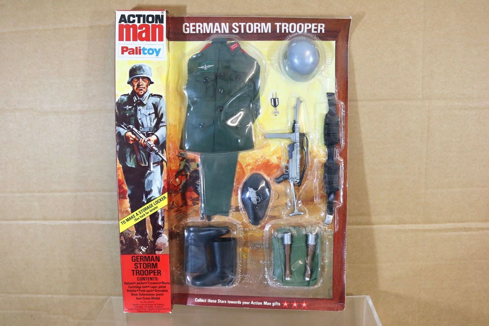 Palitoy B 34315 Aktion  Herrench WWI Deutsch Stormtrooper Uniform Set Nn
