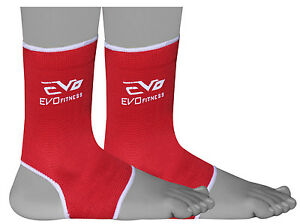 Evo-Fitness-Anklet-Support-MMA-Guard-Kick-Boxing-Muay-Thai-Martial-Arts-foot-pro