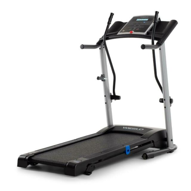 Weslo Crosswalk 5.2T Total Body Treadmill With Upper Body Workout Arms, Compatib