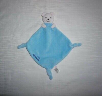Sigikid Aptawelt Schmusetuch Bär blau Kuscheltuch Schnuffeltuch NEU mit Etikett