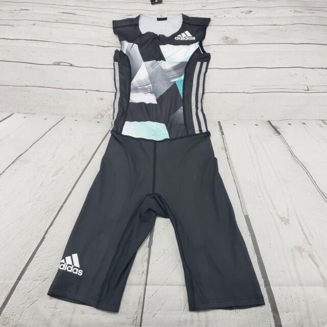 Adidas Bodysuit Size XS Adizero AZ SL PU SUIT M Compression Running Track Field