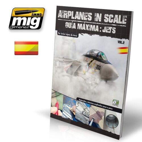 AIRPLANES IN SCALE 2 SPANISH #EURO0011 CASTELLANO Maxima Gula JETS