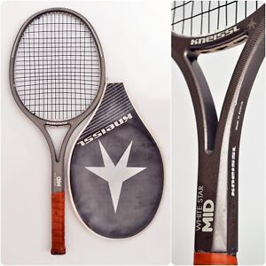 016e2e1c Details about Kneissl WHITE STAR MID Graphite 80s vintage Tennis Racket  with Head Cover 4.1/2