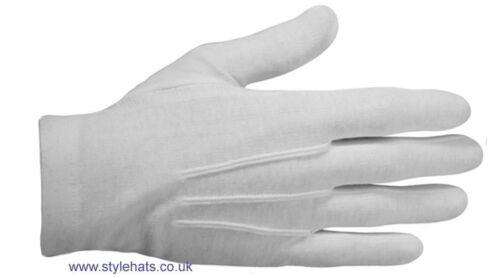 Wholesale Ceremonial White  Dress Gloves Parade Masonic Services Gloves Bargain