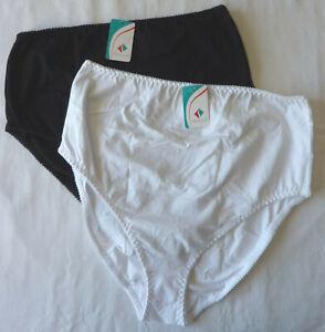 Lot-2-culottes-de-Grossesse-lingerie-maternite-slips-coton-taille-T6-XXL-neuf