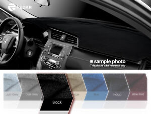 Image Is Loading Black Dashboard Pad Dash Cover Mat For 2007