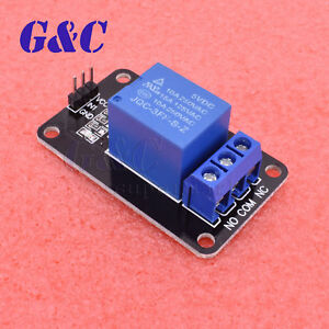 2pcs 1 Channel 12V Relay Module with optocoupler for Arduino PIC ARM