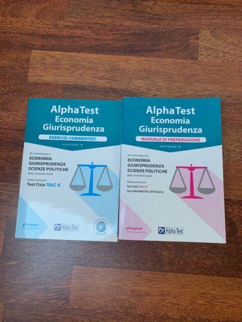 Kit preparazione Alpha test Economia-Giurisprudenza. Manuale+esercizi