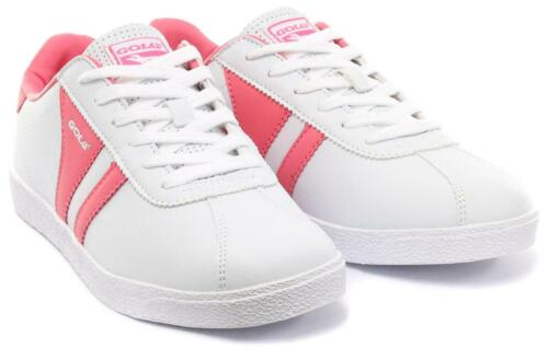 NEW RETRO GIRLS KIDS GOLA TRAINERS  LACE UP FLAT LADIES FASHION SPORTS SHOES