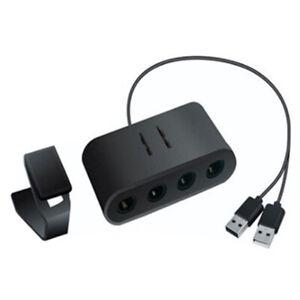GAMECUBE-CONTROLLER-ADAPTER-FOR-WII-U-SUPER-SMASH-BROS-PC-USB-amp-NINTENDO-SWITCH