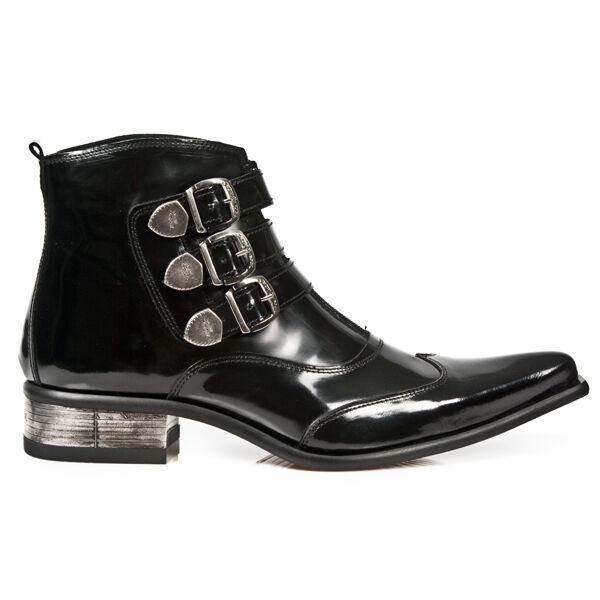 New Rock Stiefel Boots Stiefelette schwarz M.2286-C10 30 Tage