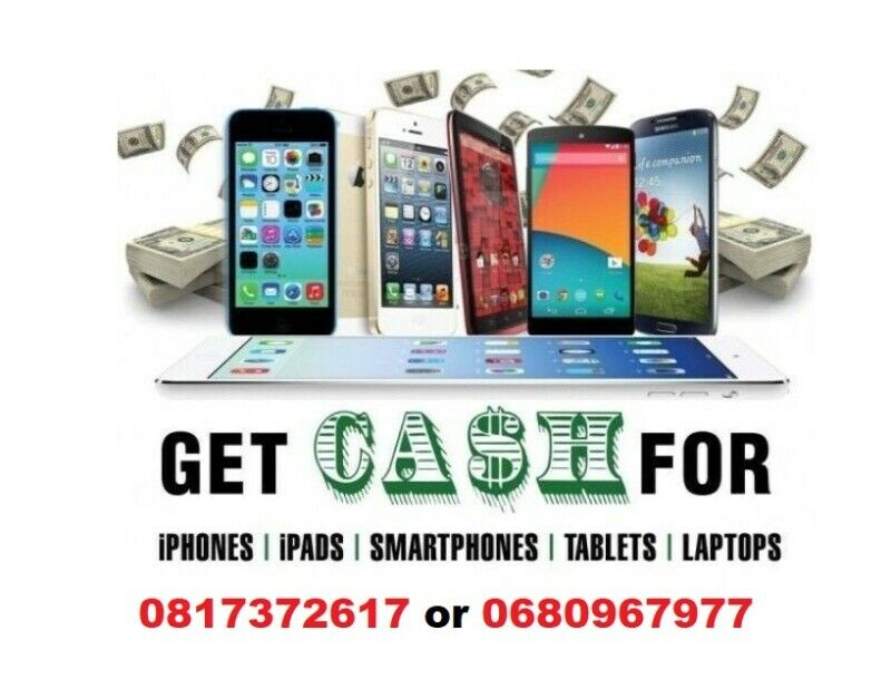 cash for Mobile Phones Cash waiting for any phone -good working condition Can be new/used/cracked.
