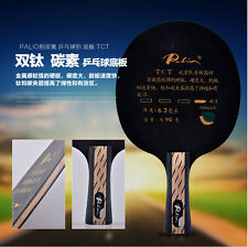 Palio TCT CARBON +Titanium Table Tennis Blade ping pong bat table tennis paddle