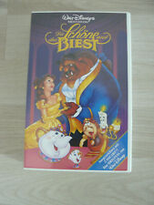 Die Schöne und das Biest Walt Disney Meisterwerk VHS Videokassetten