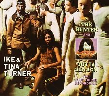Ike And Tina Turner: THE HUNTER + OUTTA SEASON (2 LPS ON 1 CD) DIGIPACK EDITION