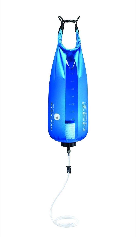 Katadyn gravità Base Camp Pro 10 litro filtro in fibra di vetro DEPURATORE D'ACQUA