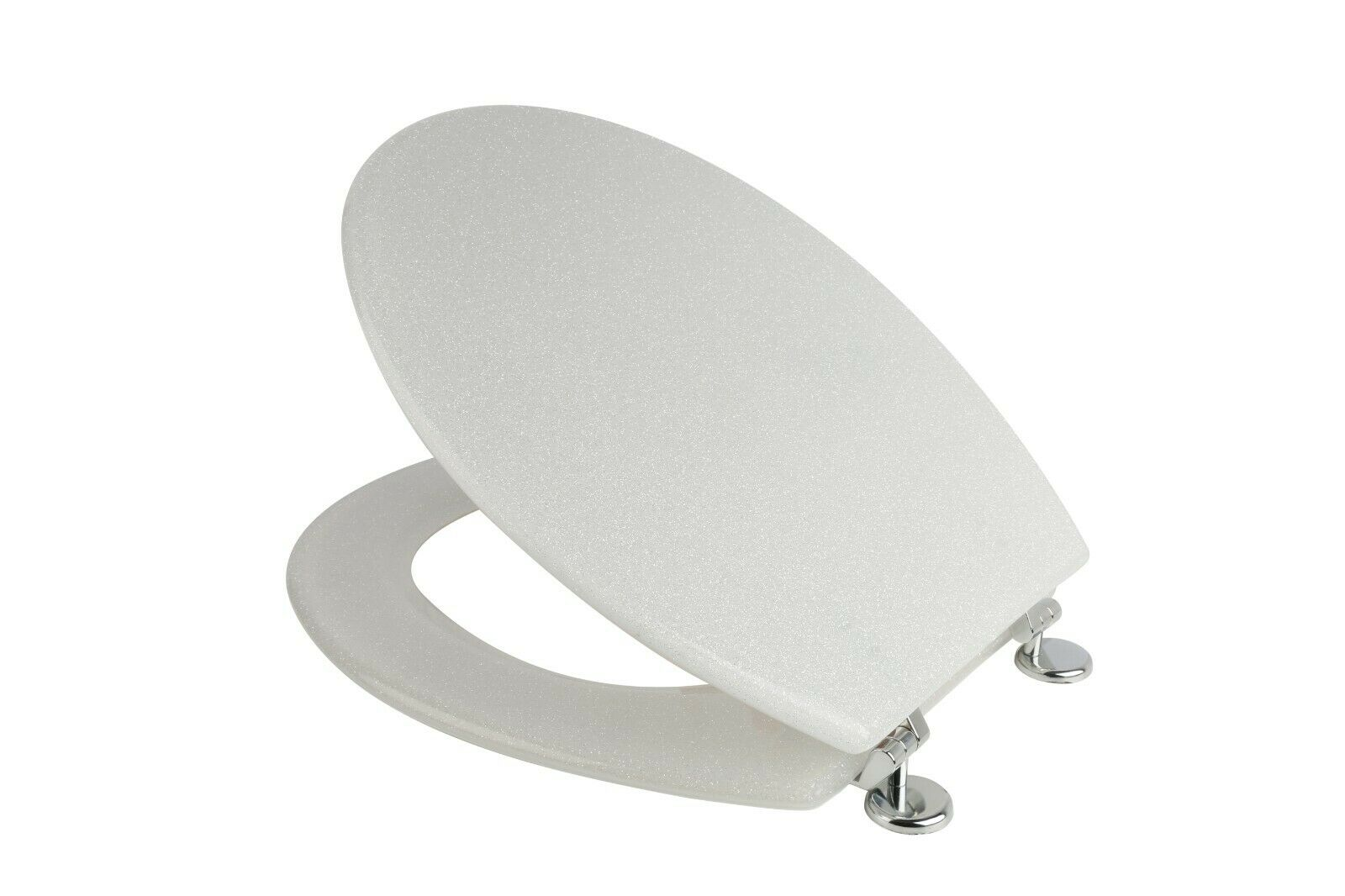 Wondrous Croydex Wl101022 Toilet Seat White Glitter Gmtry Best Dining Table And Chair Ideas Images Gmtryco