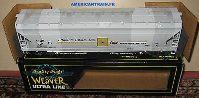 Wagon Coalporter Hopper Car #392736 CSX 3 rails échelle O MTH
