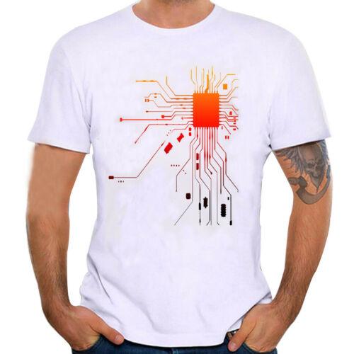 Men/'s Summer Daily Short Sleeve Printing Tees O-Neck Pullover T-Shirt Blouse