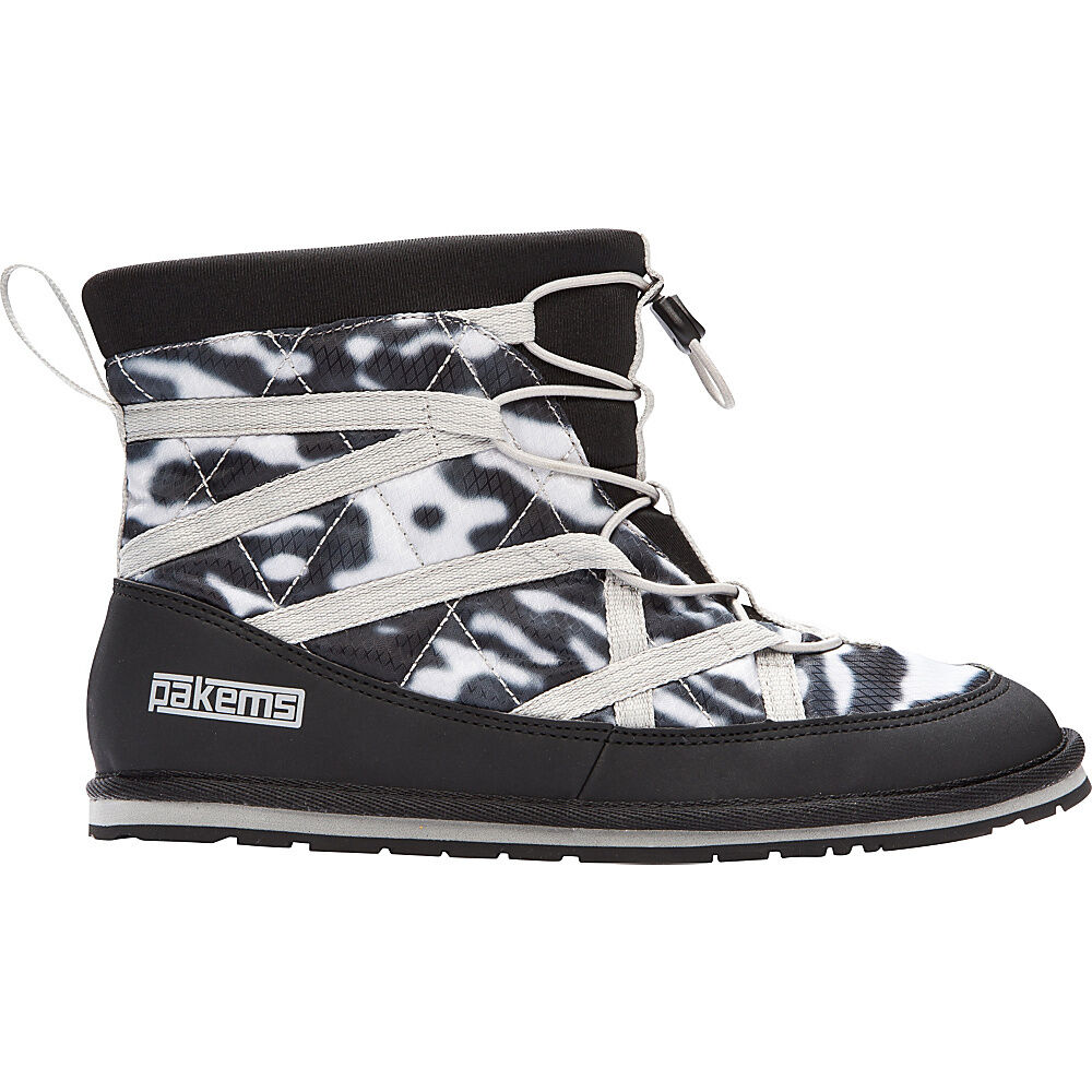 Pakems - Classic High Top Boot - Pakems Mens Size 9 Black & White Marble d65d93