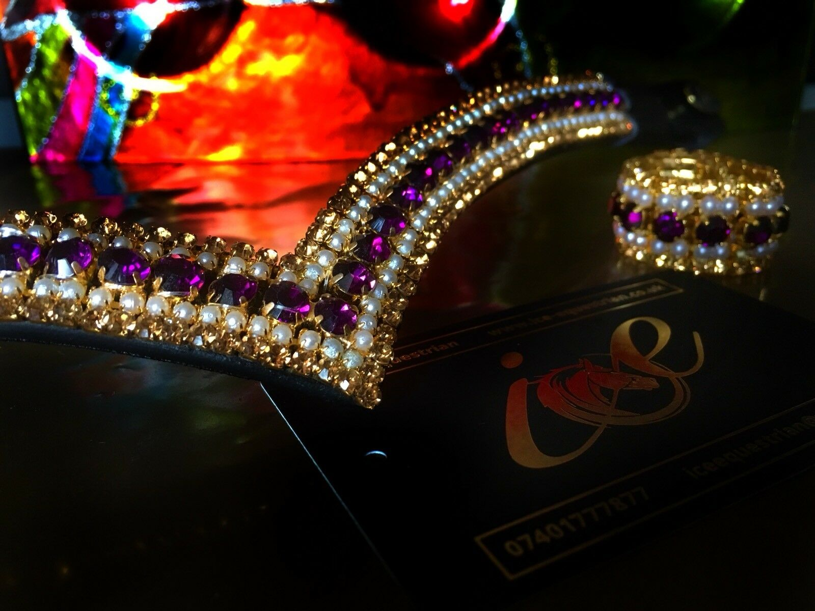Bling Browband Mega Sparkly NEW Equestrian