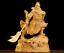 thumbnail 1 - Chinese Box-wood Hand Carving Fengshui Pine Tree Guan Gong Yu Warrior God Statue