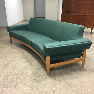 Mid-Century Sofa + Table by Johannes Andersen for Trensums ...