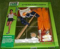 Vintage Action Man 40th Carded Sportsman Olympic Champion
