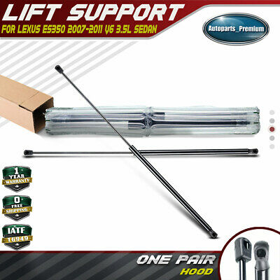 Front Hood Lift Supports 2007 To 2012 Lexus Es350 2 Pieces Set