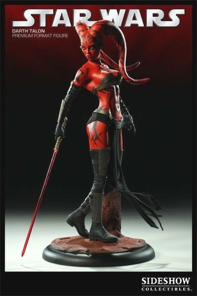 Sideshow DARTH TALON Premium Format    554 Star Wars 1/4 Scale -NEW FACTORY SEALED d42abe