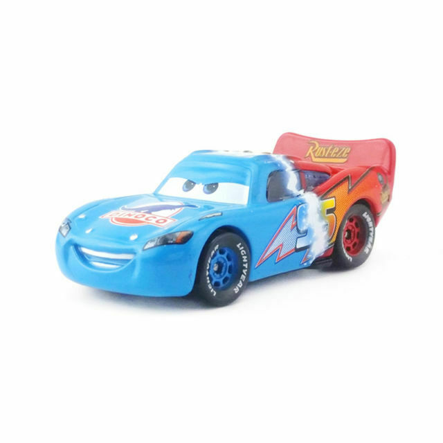 Mattel Disney Pixar Car The Mystery Half Dinoco Lightning Mcqueen Toy Car 1 55 For Sale Online Ebay