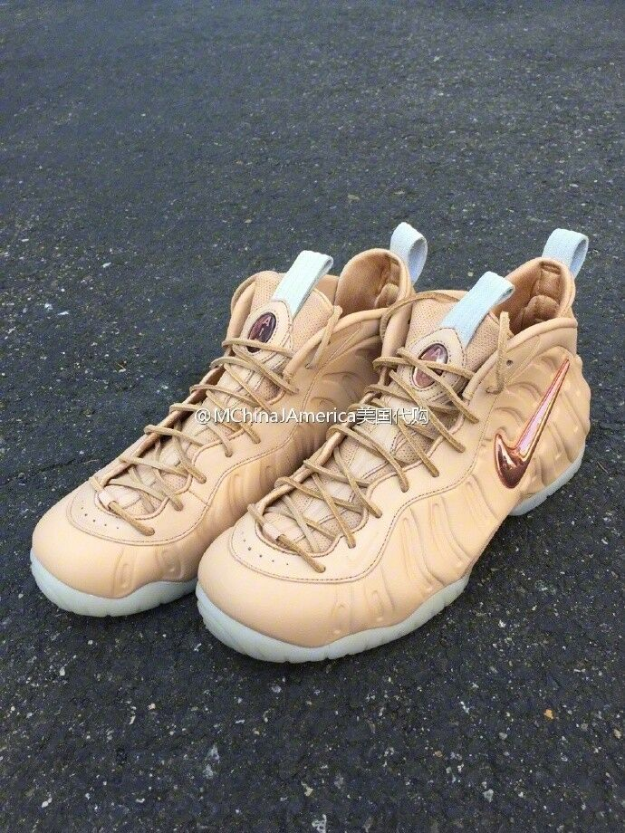 NIKE AIR FOAMPOSITE PRO PRM AS QS ALL-STAR Vachetta Tan Decades 920377