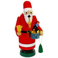 Standing Joyful Santa Claus Incense Burner Smoker Made In Germany