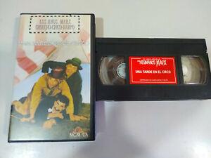 Los-Hermanos-Marx-Una-Tarde-en-el-Circo-Groucho-Harpo-Chico-VHS-Cinta-Tape