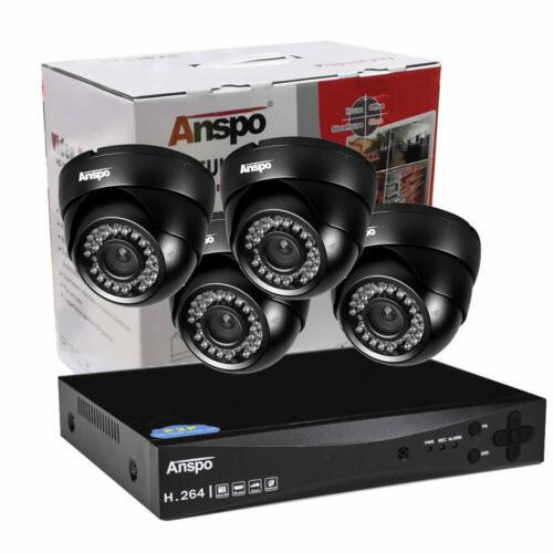 SMART CCTV HD Digital Video Recorder Camera System DVR 4CH Home Security Cam UK