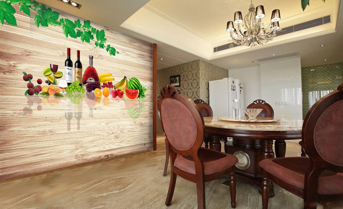 3D Essen Holzbrett Wein 9093 Tapete Wandgemälde Wandgemälde Wandgemälde Tapeten Bild Familie DE Jenny | Der Schatz des Kindes, unser Glück  | Kunde zuerst  | Praktisch Und Wirtschaftlich  72e36a