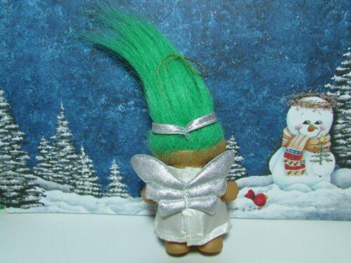 "CHRISTMAS ANGEL NEW IN ORIGINAL WRAPPER 3/"" Russ Troll Doll"