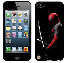Deadpool case fits ipod touch 5 & 6 6th 5th gen cover protective (1) apple