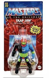 MOTU Masters Of The Universe Origins Trap Jaw 2020 MOTU MOC TRAPJAW Case Fresh