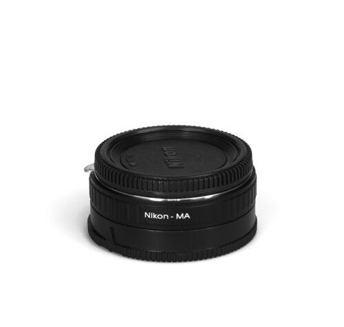 Ai-ma corrección lente lente adaptador Nikon AI objetivamente en Sony ma adaptador de cámara